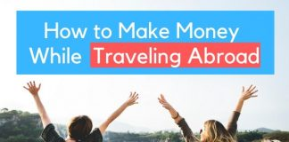 how to make money while travel